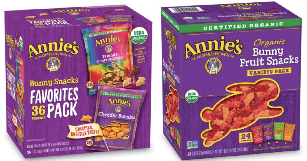 Annie's Pouch snack boxes