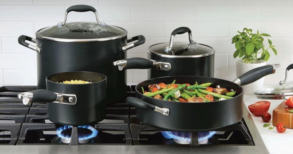 Anolon Advanced Home 11-pc. Cookware Set