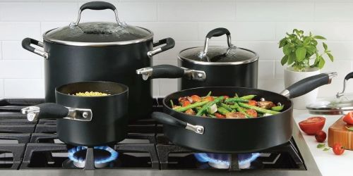 Anolon Advanced Home 11-piece Cookware Set From $159.99 Shipped After Rebate (Regularly $400) + Get $40 Kohl's Cash