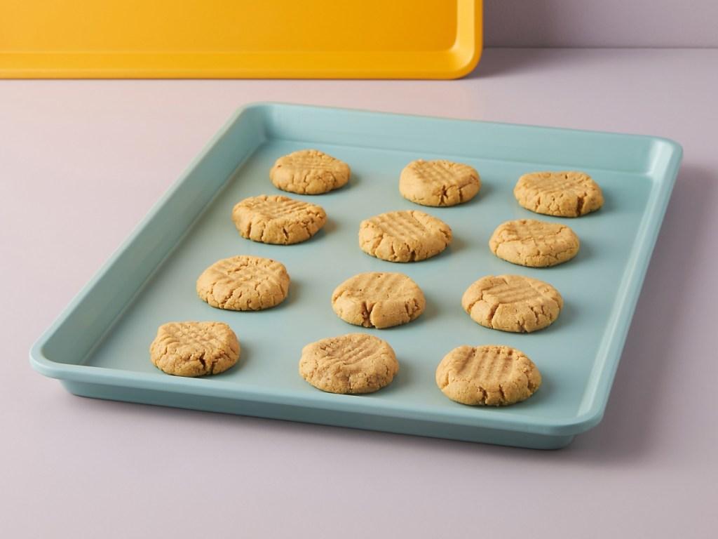 half cookie sheet