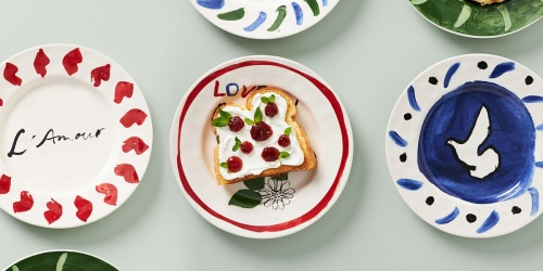 Extra 50% Off Anthropologie Sale Items | Melange Dessert Plates Just $3.98 (Regularly $16)