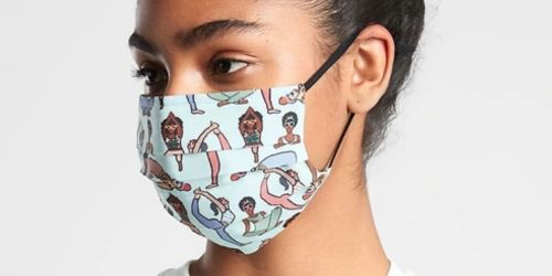 Athleta Reusable Face Masks 5-Pack Just $9.99 (Regularly $30) + Up to 50% Off Activewear