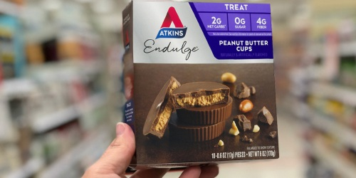 Atkins Peanut Butter Cups 60-Pack Only $22 on Amazon | Keto-Friendly Treat