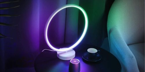 Color-Changing Ring Lamp Only $34.99 Shipped on Amazon | Hundreds of 5-Star Reviews