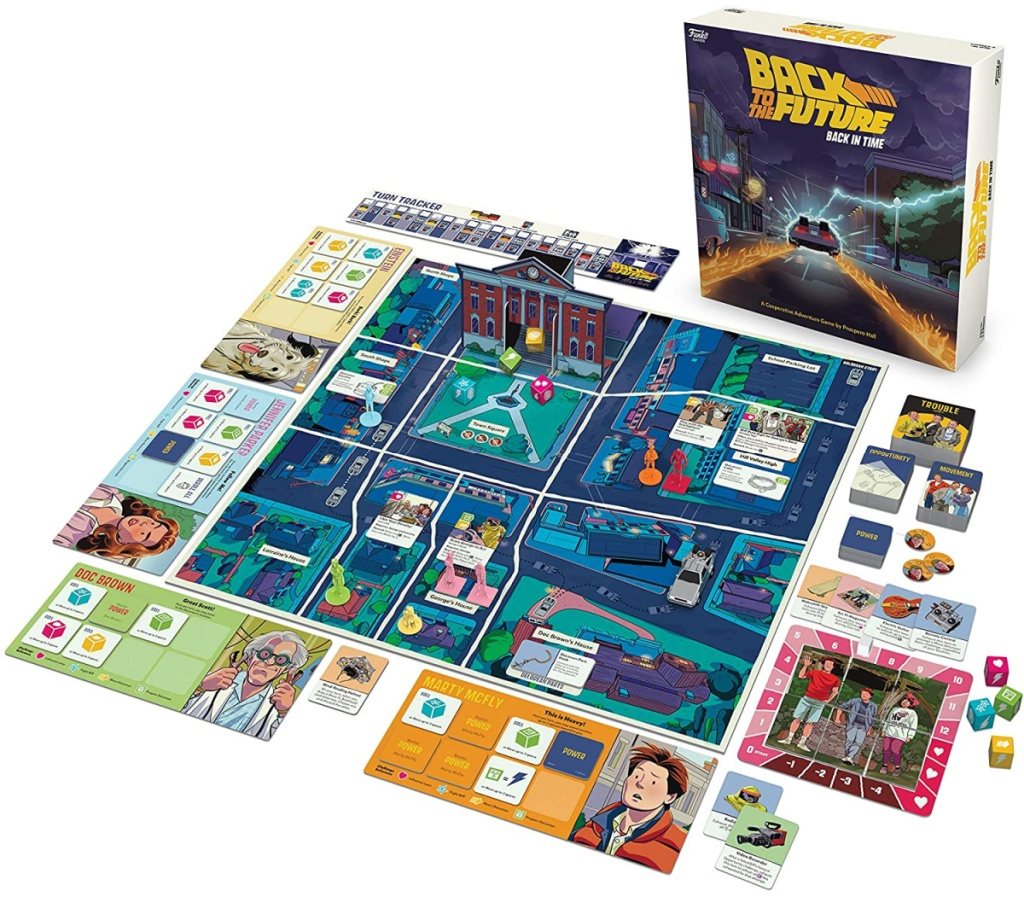 Back to the Future themed board game