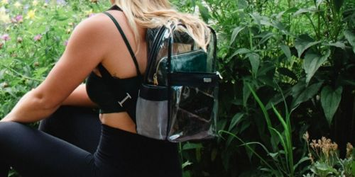 Baggallini Clear Large Backpacks Only $18 (Regularly $60) + Up to 80% Off Other Bags