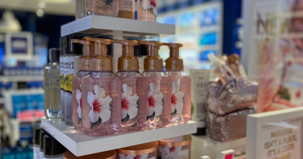 Bath Body Works Soaps & Gift Bags