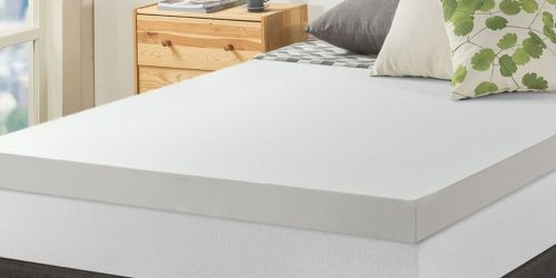 Memory Foam Mattress Topper w/ Cover from $91 Shipped on Walmart.com (Regularly $205+)