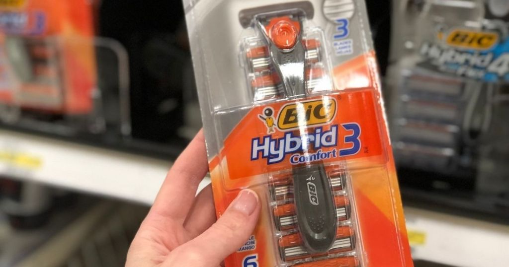 Bic Hybrid Comfort 3 razor