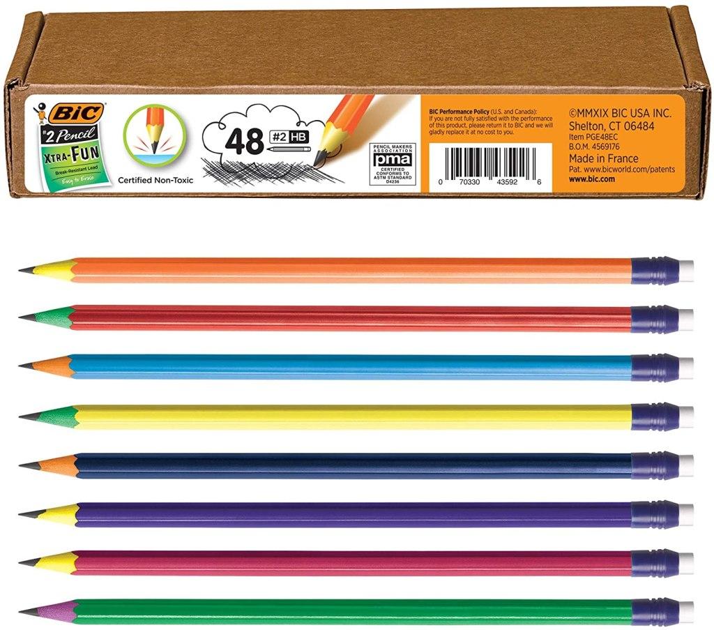 Bic Xtra Fun Wooden Pencils