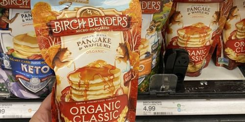 Birch Benders Pancake & Waffle Mix 3-Packs from $8.76 Shipped on Amazon (Regularly $14) | Protein, Blueberry, Keto & More