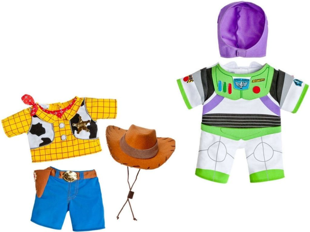 Build-A-Bear Toy Story Costumes