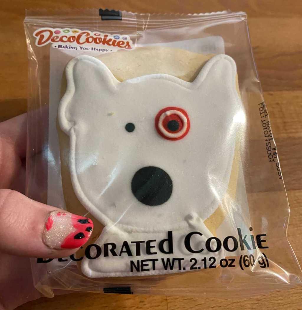 Bullseye Dog Cookies
