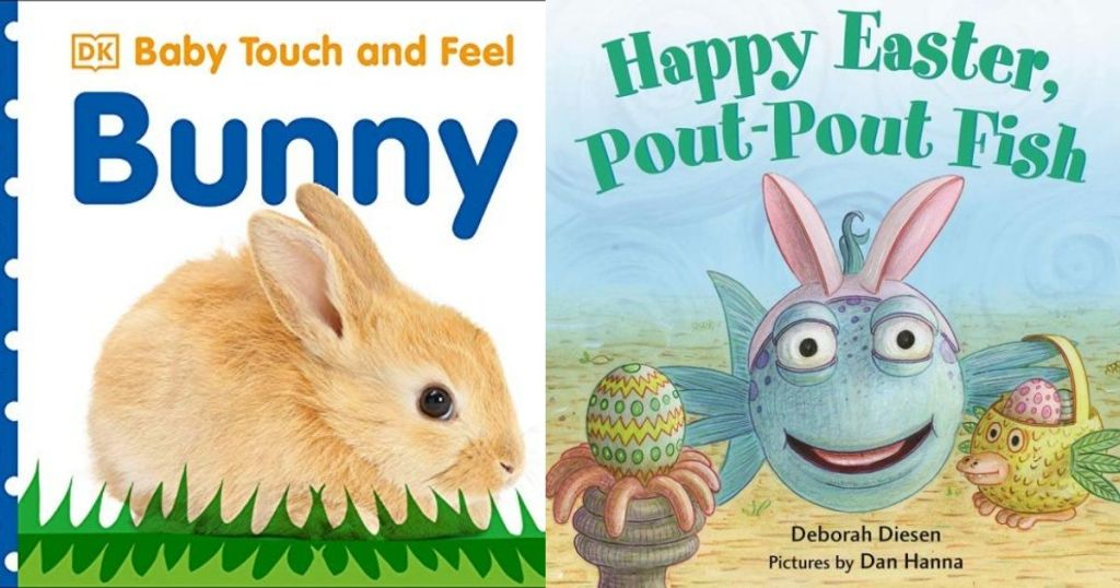 Bunny and Pout-Pout Fish Books