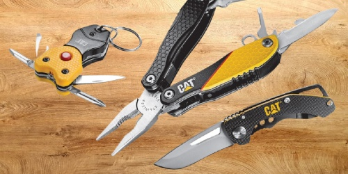 CAT 3-Piece Multi-Tool & Pocket Knife Bundle Only $23.99 Shipped (Regularly $50) | Includes Gift Box