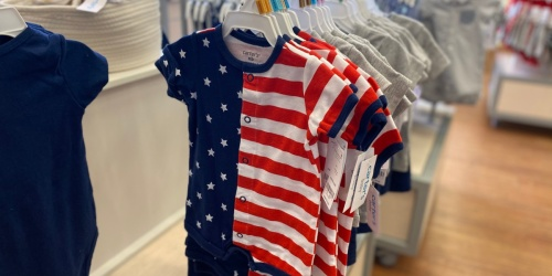 Up to 70% Off Carter's Baby Apparel   Tons of Adorable Summer Styles to Score!