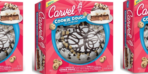 Grab This NEW Carvel Cookie Dough Ice Cream Cake for Your Next Celebration + How to Save $5