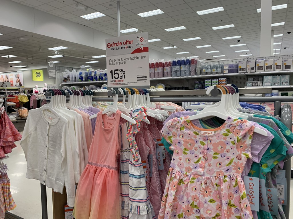 Cat Jack Dresses on store racks