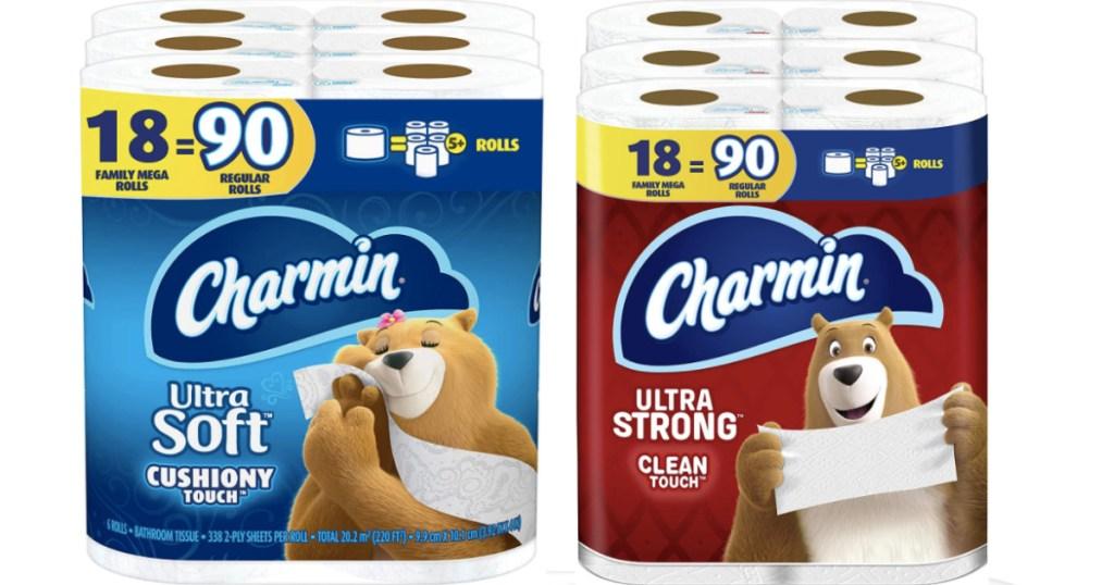 charmin toilet paper rolls