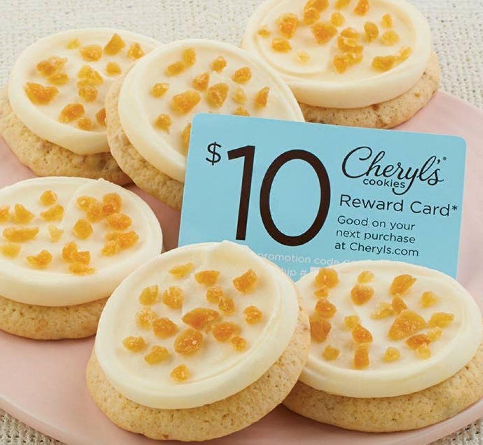 Cheryl's Peaches and Cream cookies