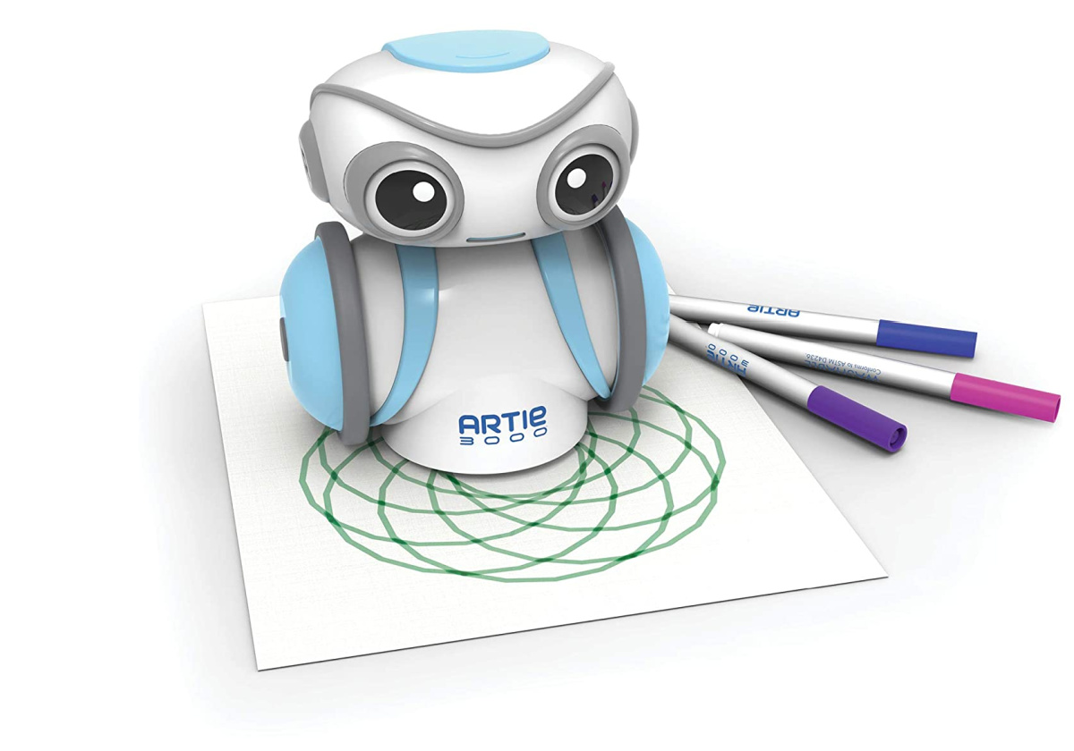 small robot coding toy