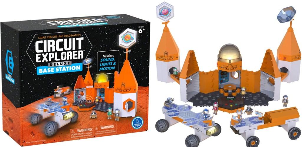 Educational circut space station set
