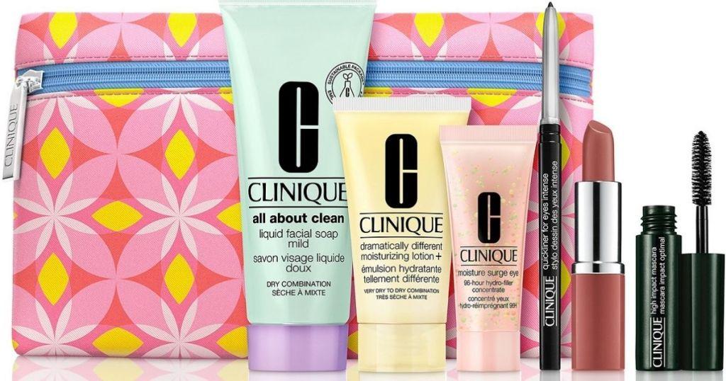 Clinique 7-piece gift set