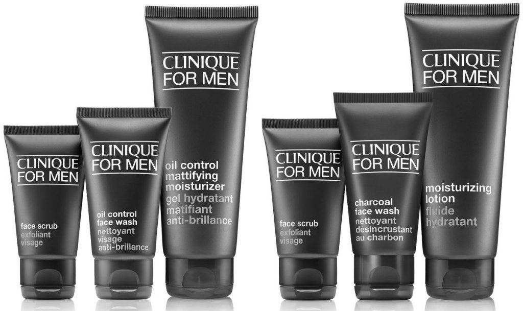 Clinique men's 3-piece skincare sets