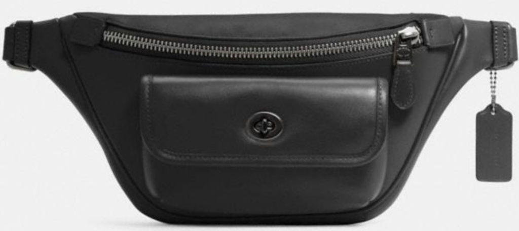 coach heritage fanny pack bag