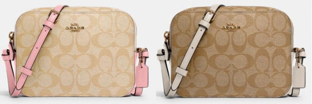 2 coach mini camera bags