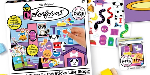 Colorforms Picture Play Sets from $17.61 on Amazon (Regularly $20+)