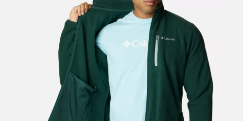Columbia Men's Full-Zip Fleece Jacket Only $19.99 Shipped (Regularly $50) | 6 Color Choices