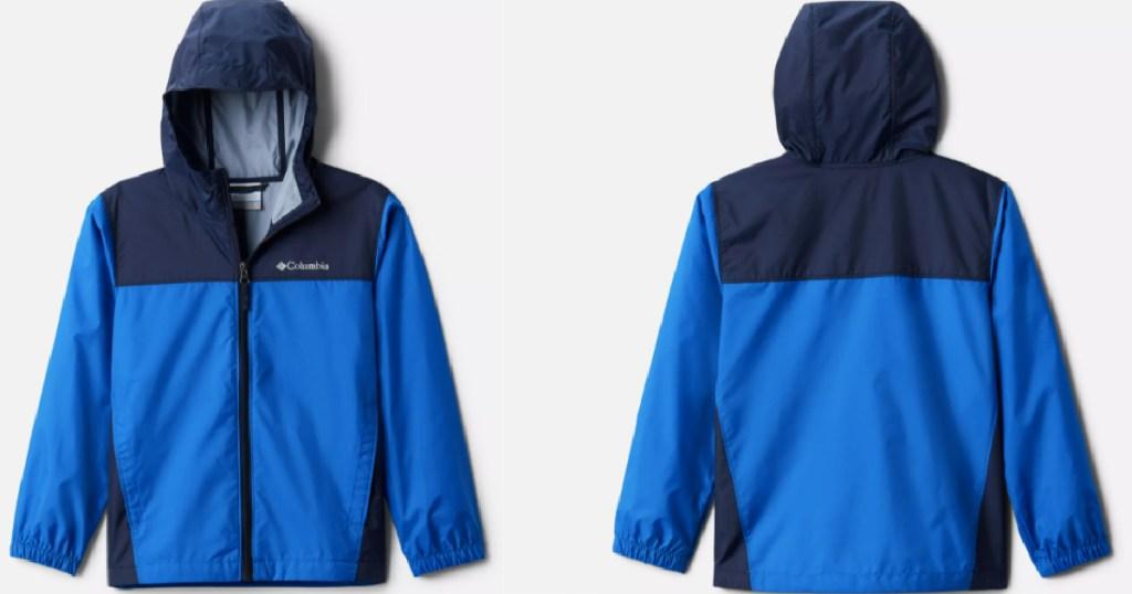 blue columbia jackets