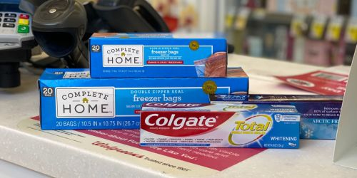 Best Walgreens Weekly Ad Deals 8/1-8/7 (FREE Toothpaste, B1G2 Free Sandwich Bags & More!)