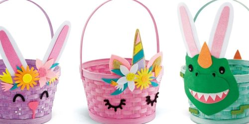 Creatology Easter Basket Decorating Kits Only 79¢ at Michaels (Regularly $4) + More Easter Clearance