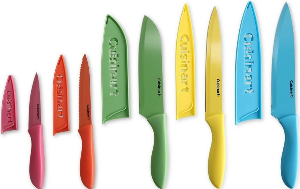 Cuisinart Colorful Ceramic Knife Set