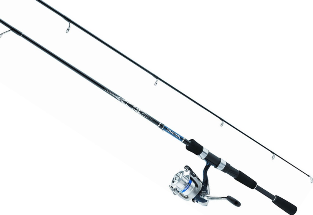 Daiwa D-Shock Freshwater Spinning Rod and Reel Combo