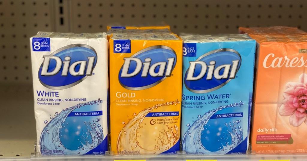 Dial Bar Soap at walgreens
