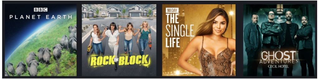 shows Discovery plus offers!