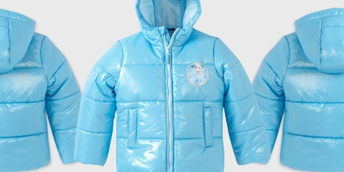 Frozen Puffer Jacket Only $17.99 on Target.com (Regularly $45) + More Disney Apparel Deals