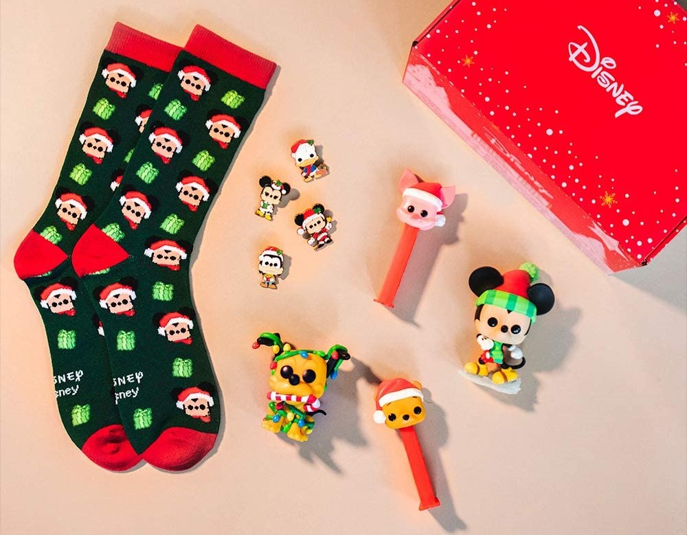 Disney Funko Box with socks