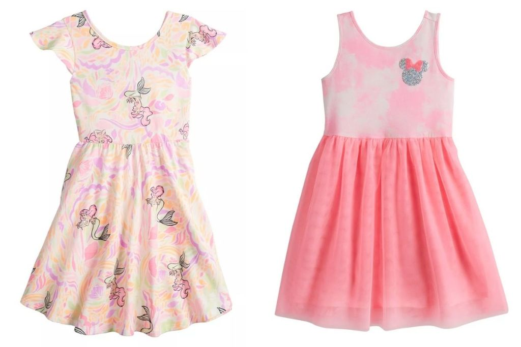 2 Disney Jumping Beans Girls Dresses