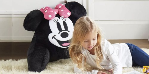 Disney Kids Backrest Pillows from $11.99 (Regularly $40) + Free Shipping for Select Kohl's Cardholders