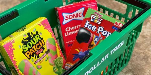 Sour Patch Kids, Sonic Cherry Limeade & Froot Loops Popsicles Only $1 at Dollar Tree