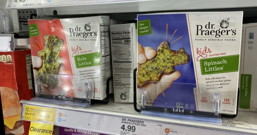 vegetable snacks in packaging