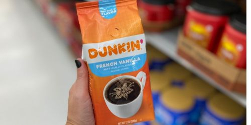 Dunkin' Ground Coffee Only $3.97 Shipped on Amazon
