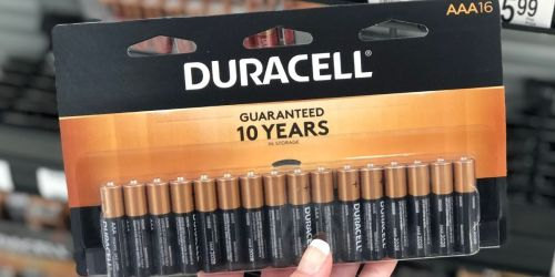 Free Duracell Batteries After Office Depot Rewards + Free Store Pickup