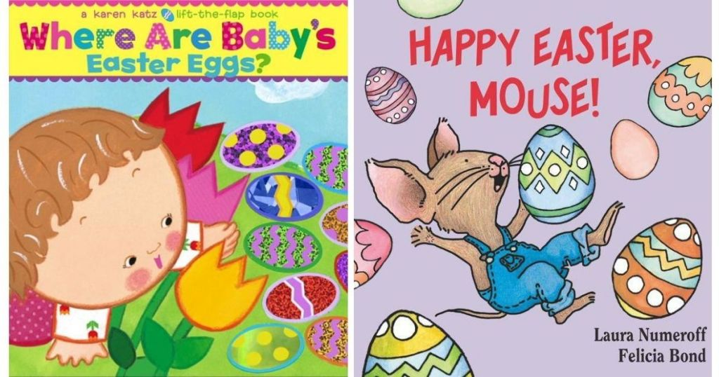 two kids Easter books