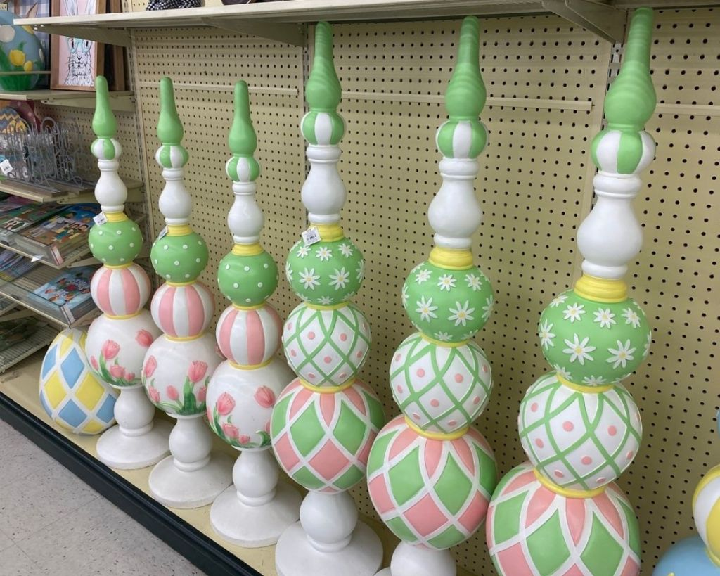 Easter Decorative Spindles