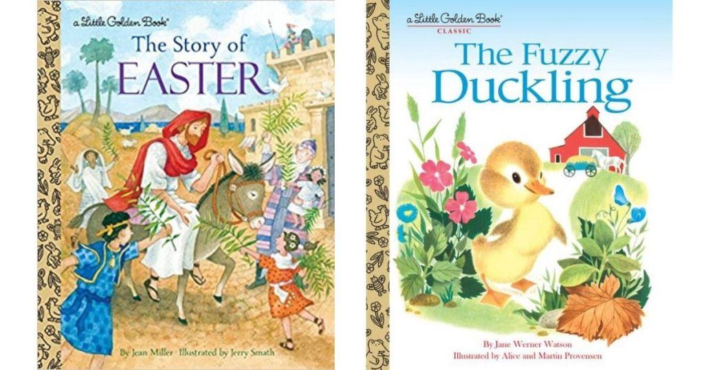 two Easter Little Golden Books